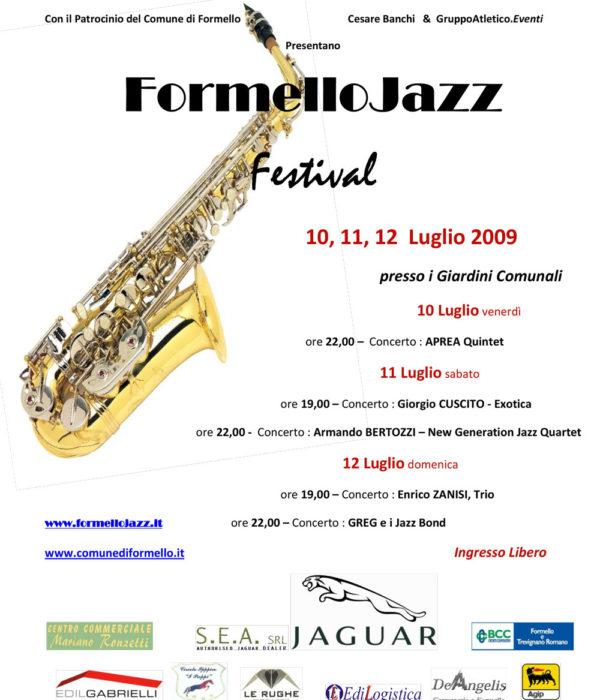 2009 Locandina FJF